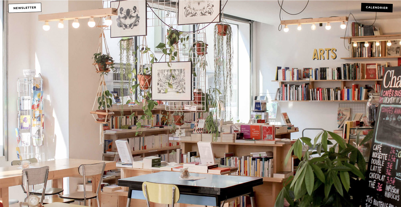 Librairie La Régulière , à Paris Barbès