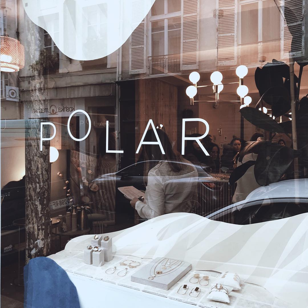 Vitrine de la boutique Polar